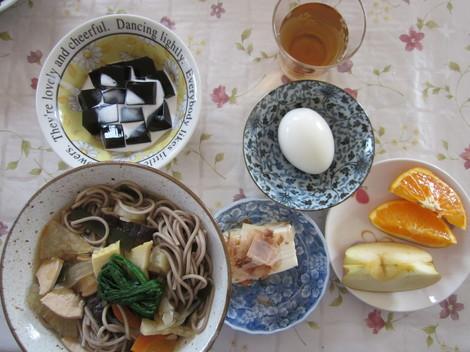 タケノコ蕎麦・コーヒーゼリー 006.JPG
