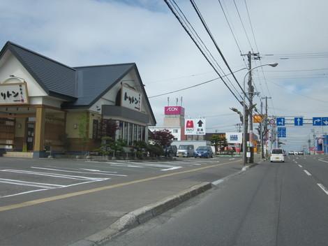 パン屋夕陽ケ丘通り・国道からメッセラルズ・100ボル 007.JPG