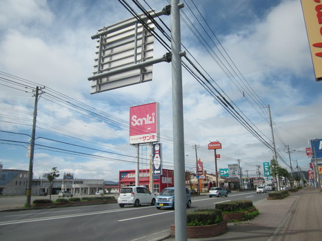 パン屋夕陽ケ丘通り・国道からメッセラルズ・100ボル 009.JPG