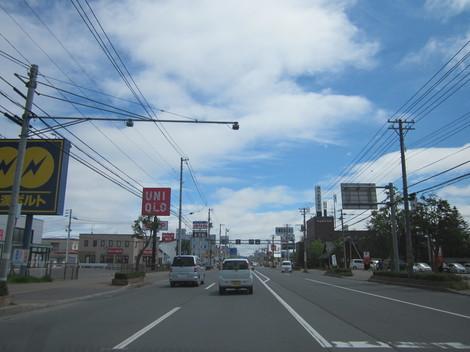 パン屋夕陽ケ丘通り・国道からメッセラルズ・100ボル 012.JPG